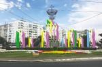 Цветущая степь на улицах города